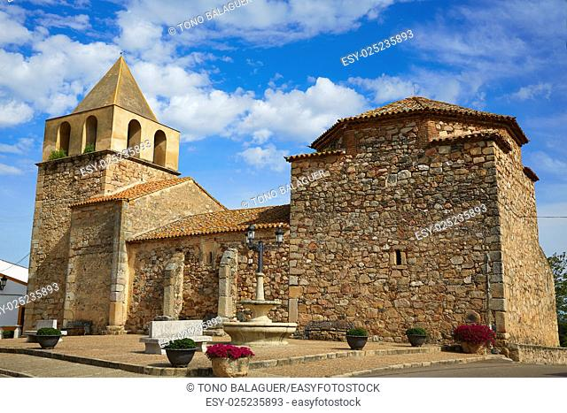 Carrascalejo church Nuestra senora Consolacion at Extremadura of Spain