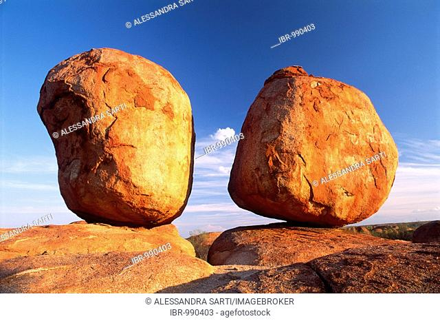 Devils Marbles in evening light, Northern Territory, Australia