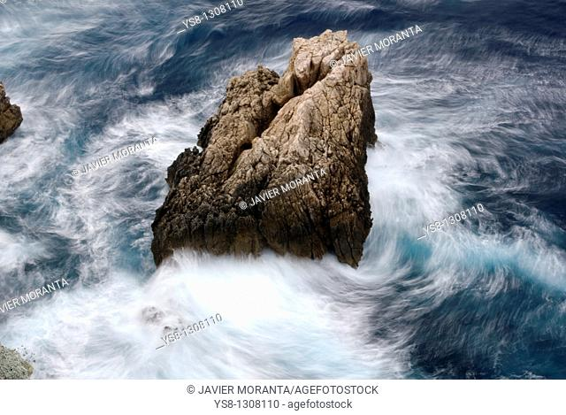 Spain, Islas Baleares, Dragonera Island, Mediterranean Sea