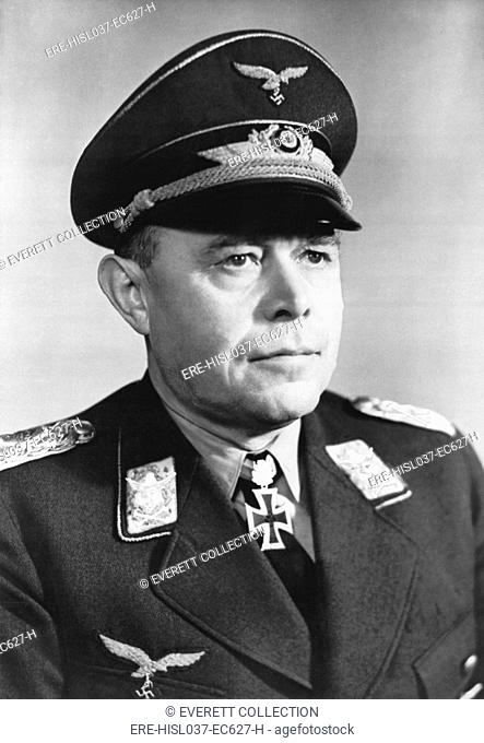 German General Albert Kesselring. He lead German air forces during the invasions of Poland and France, the Battle of Britain, and USSR in 1939-41