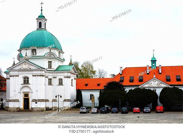 Warszawski kosciol Sakramentek pod wezwaniem Sw. Kazimierza - St. Kazimierz Church, Roman Catholic Church of St Casimir - The Benedictine Sisters of Perpetual...