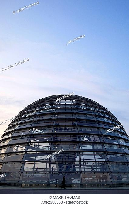 The Reichstag dome; Berlin, Germany