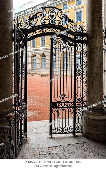 Wrought Iron Gate, Saint Jean Palace, Lyon, Rhône Alpes, France