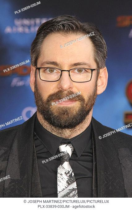 """Martin Starr at Columbia Pictures' and Marvel Studios' """"""""Spider-Man Far From Home"""""""" World Premiere held at the TCL Chinese Theatre in Hollywood, CA, June 26"""