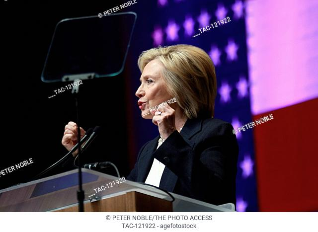Secretary Hillary Rodham Clinton attends the National Association of Latino Elected & Appointed Officials 32nd Annual Convention at the RIO on June 18th