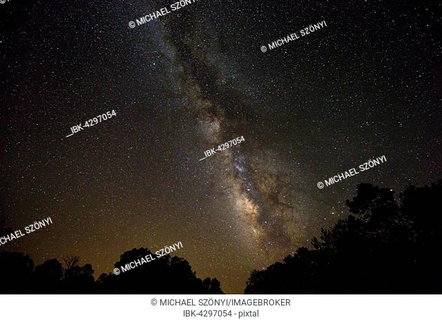 Milky Way as seen from the South Rim, Grand Canyon, Arizona, USA