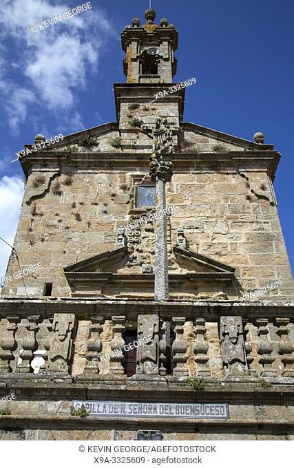Buen Suceso Chapel, Finisterre; Costa de la Muerte; Galicia; Spain