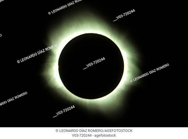 Solar eclipse, July 11th 1991