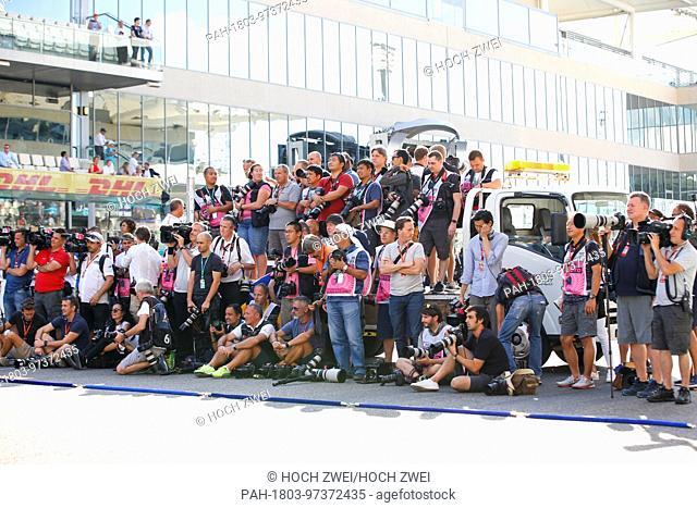 Motorsports: FIA Formula One World Championship 2017, Grand Prix of Abu Dhabi, photographer, Fotograf, media, Medien, press, Presse 26.11.2017