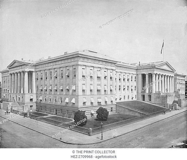 'Patent Office, Washington', c1897. Creator: Unknown