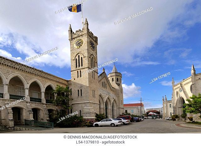 Parliament House Bridgetown Barbados Caribbean Cruise NCL