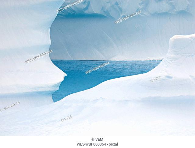 Antarctic, View of Iceberg