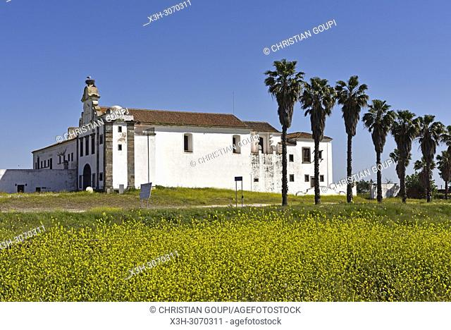 Orada convent near the perched village Monsaraz, Municipality of Reguengos de Monsaraz, Alentejo region, Portugal, southwertern Europe
