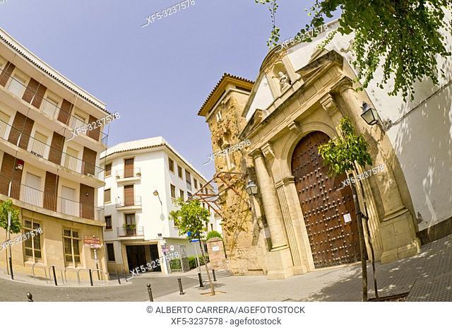 Minaret of San Juan, Old Town, Córdoba, Andalucía, Spain, Europe