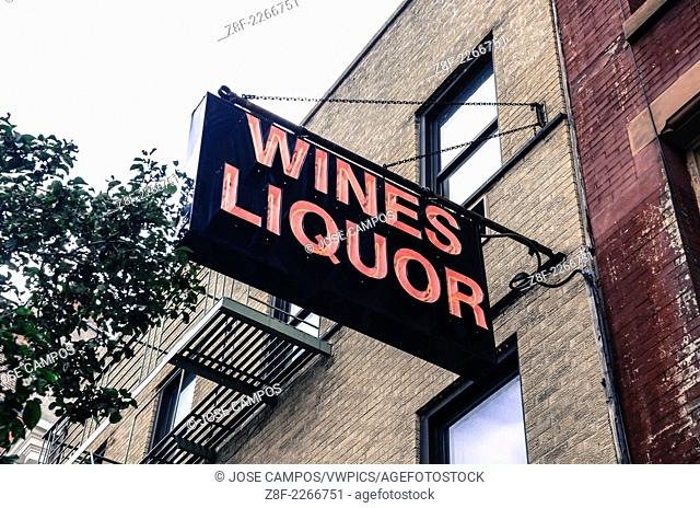 Liquor Store. Soho, NYC