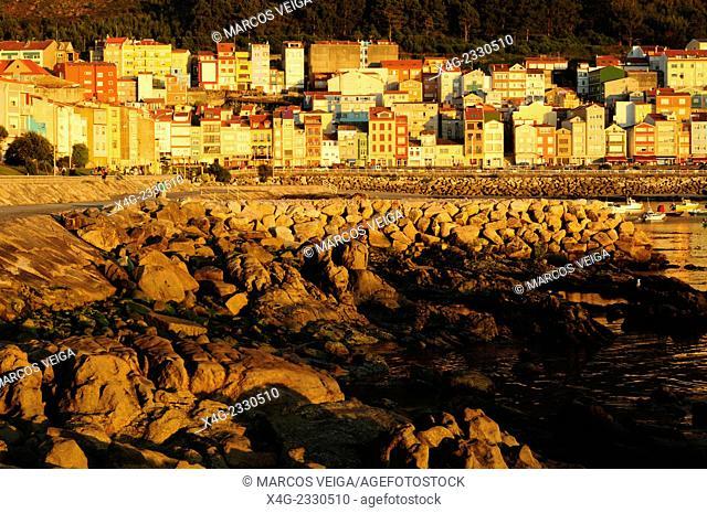 A Guarda port. Pontevedra, Galicia, Spain