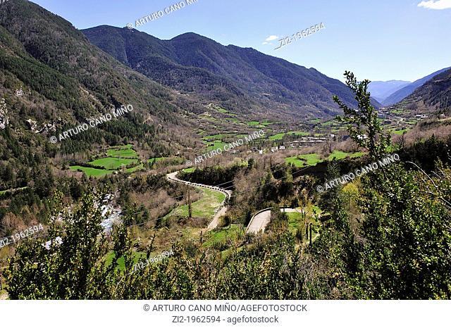 Ara Valley, Aragonese Pyrenees. Huesca, Spain