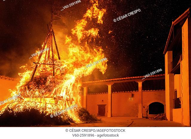 -Saint Anthony in Castellfort- Valencian community (Spain)