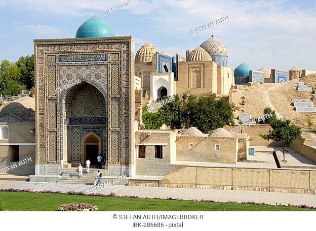 Necropolis Shah-i-Zinda Samarkand Uzbekistan