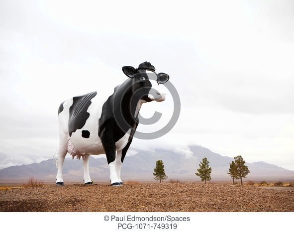 Giant Cow Sculpture