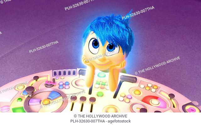 Joy (voiced by Amy Poehler) in Inside Out, 2015 Disney