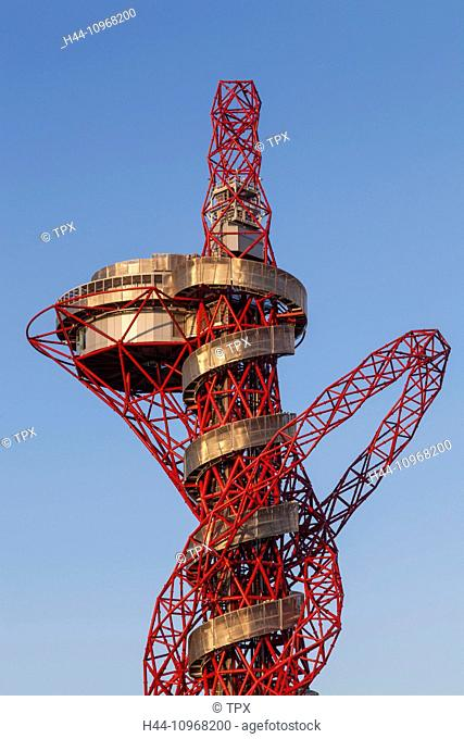 England, Europe, London, Stratford, Queen Elizabeth Olympic Park, ArcelorMittal Orbit