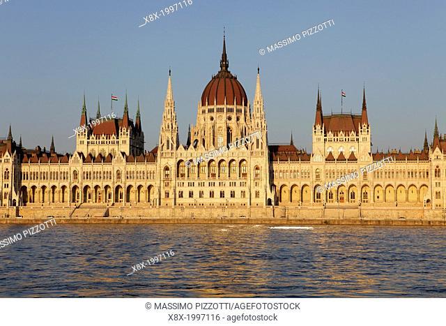 Hungarian Parliament House, Budapest, Hungary
