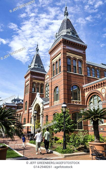 Washington DC, District of Columbia, National Mall, Arts and Industries Building, exterior, tower, facade, museum