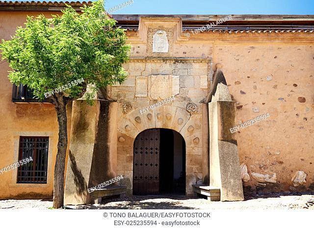 Torremejia near Merida in Extremadura Spain by via de la Plata way