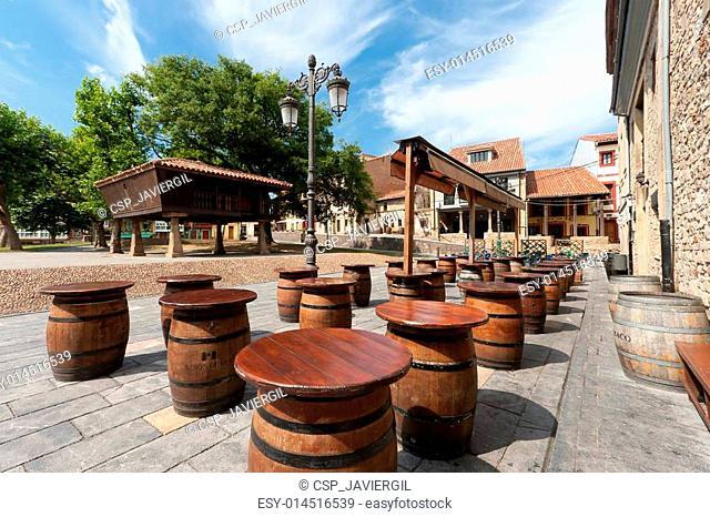 Square of Aviles, Asturias, Spain