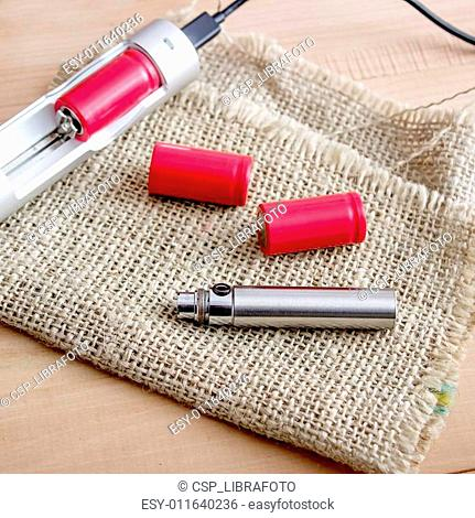 Batteries and Charger for e cigarette