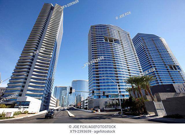 the martin and panorama towers condominium complex in Las Vegas Nevada USA