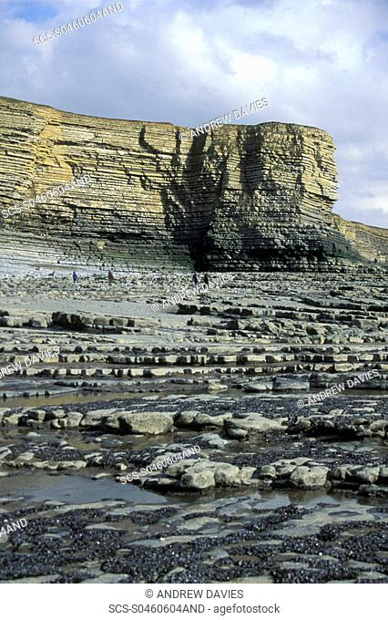 Nash Point, Heritage Coast, Vale of Glamorgan, South Wales, UK rr