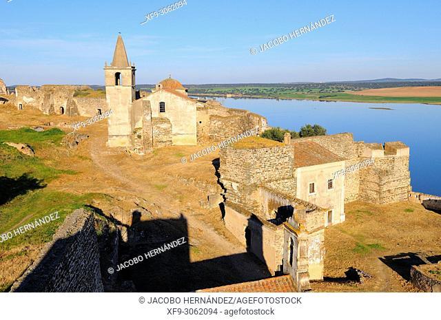 Fort of Juromenha. Alentejo. Portugal