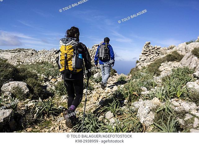 Portell de Sa Costa, Soller, parque natural sierra de Tramuntana, Mallorca, balearic islands, spain, europen