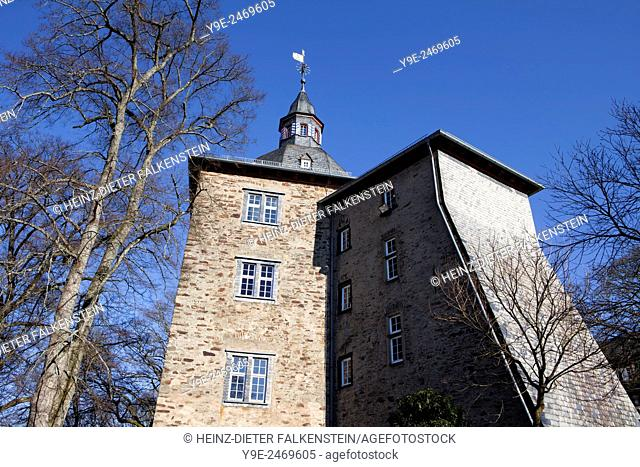 Castle buildings of the Oberes Schloss or Upper Castle, Siegen, North Rhine-Westphalia, Germany, Europe