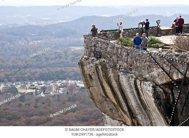 Rock City, Lookout Mountain, Georgia, USA