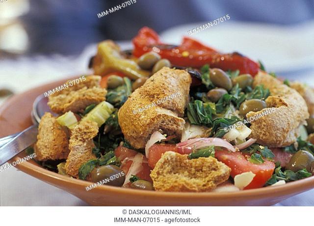 Salad Knossos Greece, Europe