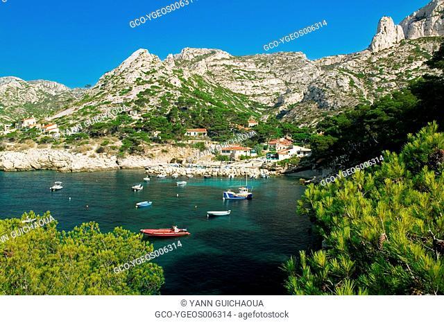 Calanque of Sormiou, Marseille, Provence, France