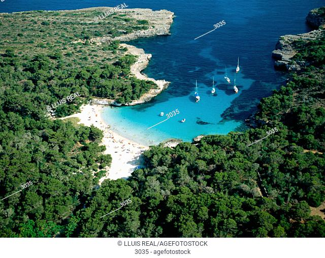 Cala En Turqueta. Menorca. Balearic Islands. Spain