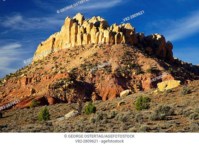 Circle Cliffs, Grand Staircase - Escalante National Monument, Burr Trail Scenic Byway, Utah