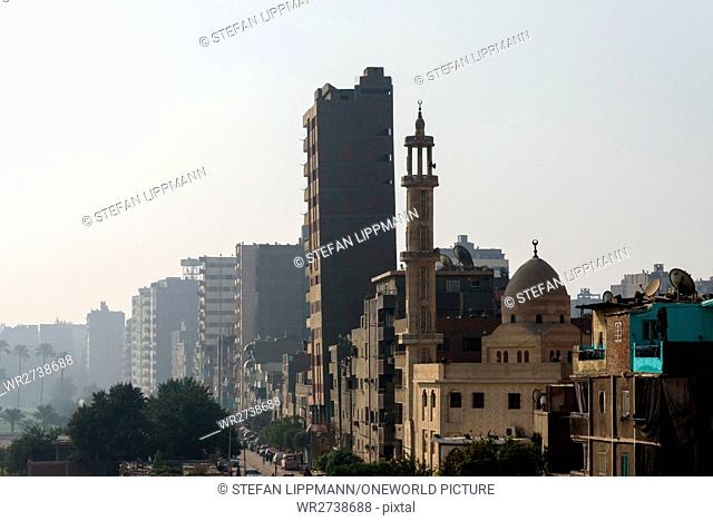 Egypt, Cairo Governorate, Cairo, Street Scene