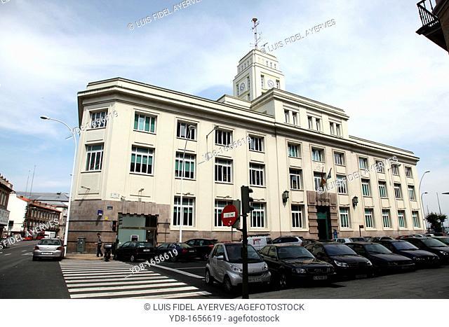 Building Post Office Galicia, La Coruña, Galicia, Spain, Europe