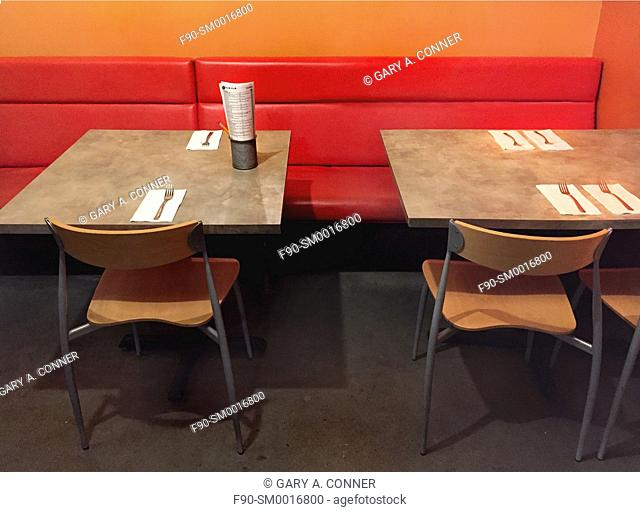 Restaurant tables and chairs-Denver CO