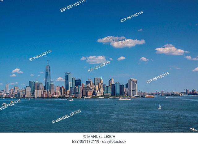 Manhatten Skyline New York City