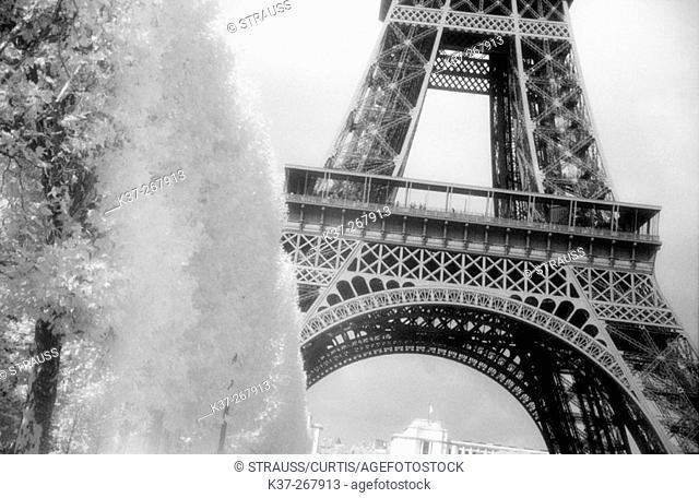 The Eiffel Tower. Paris. France