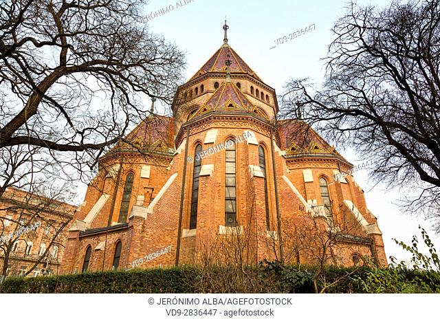 Calvinist Church. Budapest Hungary, Southeast Europe