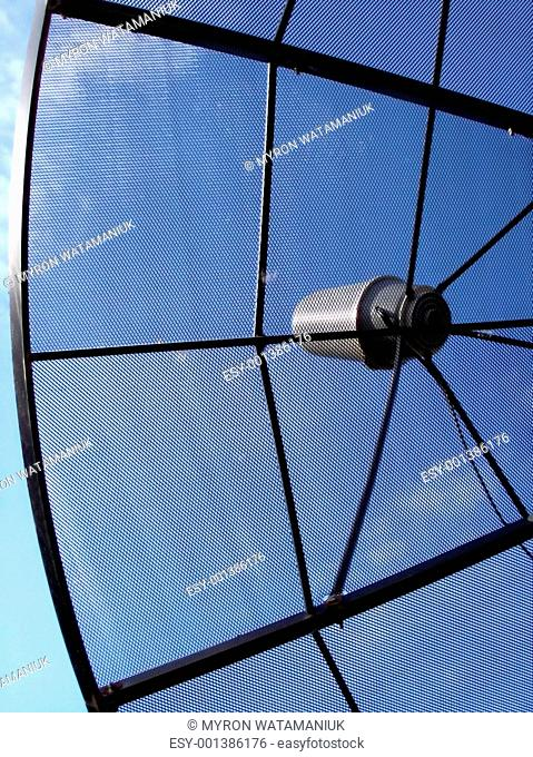 Satellite Dish Closeup