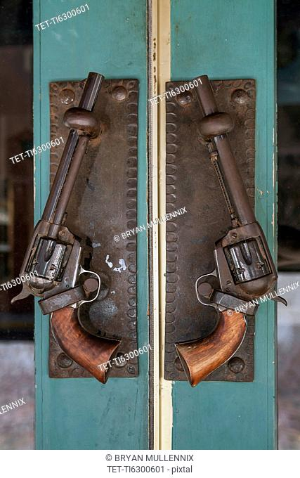 Antique revolvers