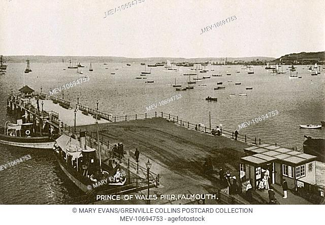 Falmouth, Cornwall - Prince of Wales Pier